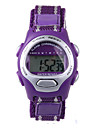 Fashion Purple Nylon Belt Child Electronic Watch Cool Watches Unique Watches