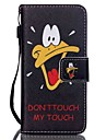 Coloured Drawing PU Leather Mobile Holster Including Anti-dust Plug stylus for iPod Touch 6