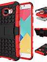 용 삼성 갤럭시 케이스 충격방지 / 스탠드 케이스 뒷면 커버 케이스 갑옷 PC Samsung A3(2016)