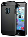 fuusii® PMF soft-shell protection corps entier couvrent dos cas pour iphone 5 / 5s