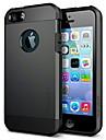 PEC soft-shell protecao cheia do corpo de volta cobrir casos para iPhone 5 / 5s