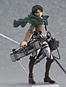 Figures Anime Action Inspire par L\'Attaque des Titans Eren Jager PVC 14 CM Jouets modele Jouets DIY