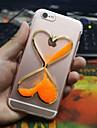 Для Кейс для iPhone 6 / Кейс для iPhone 6 Plus Движущаяся жидкость Кейс для Задняя крышка Кейс для 3D в мультяшном стиле Мягкий TPUiPhone