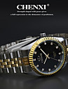 CHENXI® Мужской Наручные часы Кварцевый Японский кварц Нержавеющая сталь Группа Серебристый металл