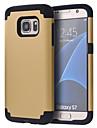 Pour Samsung Galaxy S7 Edge Antichoc Coque Antichoc Coque Couleur Pleine Polycarbonate pour Samsung S7 edge plus S7 edge S7