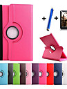 New 360 Rotating PU Leather Stand Case Cover For Samsung Galaxy Tab S 8.4 T700/Tab S 10.5 T800 Tablet+Stylus+Film
