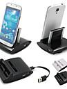 cwxuan® 3 в 1 настольного заряда синхронизации данных OTG станции USB колыбели зарядное устройство для Samsung Galaxy S3 i9300