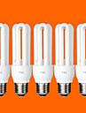 5 pcs FSL® E26/E27 T3 3U 15W 760LM 6500K Cool White Light CFL Bulbs (AC220V)