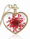 Ожерелье Кулоны Бижутерия Свадьба Для вечеринок Повседневные В форме сердца Сердце Стерлинговое серебро Женский Мужчины Пара 1шт Подарок
