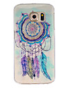Dreamcatcher Pattern TPU Painted Soft Back Cover For  Galaxy S5/Galaxy S6/Galaxy S6 edge