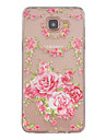 Rose Pattern TPU Relief Back Cover Case for Galaxy A3(2016)(Galaxy A3(2016)) / Galaxy A5(2016)(Galaxy A5(2016))
