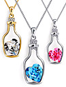 Necklace Chain Necklaces Jewelry Daily / Casual Fashion Alloy Silver 1pc Gift