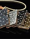 Luxury Bling Crystal Diamond Wallet Flip Card Case Cover For Samsung S7/S7 Edge
