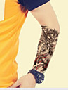 impermeavel tatuagens temporarias grande braco de transferencia falsa tatuagem autocolantes pulverizacao sexy