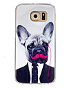 For Samsung Galaxy Case Pattern Case Back Cover Case Dog TPU Samsung S7 / S6 edge / S6