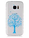 Para Samsung Galaxy Capinhas Transparente Capinha Capa Traseira Capinha Arvore TPU SamsungS7 / S6 edge / S6 / S5 Mini / S5 / S4 Mini / S4