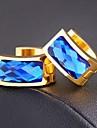 Earring Stud Earrings / Hoop Earrings Jewelry Wedding / Party / Daily / Casual / Sports Alloy / Zircon 1set Assorted Color