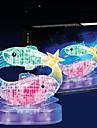 Puzzles 3D - Puzzle / Kristallpuzzle Bausteine DIY Spielzeug Fische 45pcs ABS Model & Building Toy