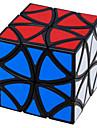 LanLan® 부드러운 속도 큐브 에일리언 속도 매직 큐브 블랙 페이드 / 아이보리 ABS
