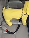 Gatos / Caes Trelas / Cinto de Seguranca para Caes / Cinto de seguranca Retratavel Vermelho / Preto / Verde / AzulMetal / Plastico /