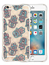 mao fantasma de silicone caso de volta transparente macia para o iPhone 6 / 6s (cores sortidas)