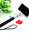 Mini Extendable Handled Stick with A Built-in Remote Shutter Designed for Apple, Android Smartphones