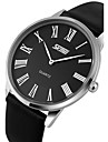 SKMEI® Men\'s Ultra Slim Dress Watch Japanese Quartz Water Resistant Cool Watch Unique Watch Fashion Watch