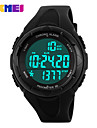 Men\'s Sport Watch Digital Watch Digital LCD Calendar Chronograph Water Resistant / Water Proof Dual Time Zones Sport Watch PU Band
