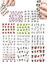 11 Autocollant d\'art de clou Autocollants de transfert de l\'eau Autocollants 3D pour ongles Bande dessinee Adorable Maquillage cosmetique