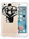Pour Coque iPhone 6 Coques iPhone 6 Plus Etuis coque Antichoc Transparente Motif Coque Arriere Coque Jeux Avec Logo Apple Flexible