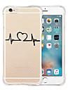 For iPhone 6 Case / iPhone 6 Plus Case Transparent / Pattern Case Back Cover Case Cartoon Soft SiliconeiPhone 6s Plus/6 Plus / iPhone