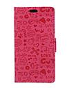 Para Capinha Huawei / P9 / P9 Lite / P8 / P8 Lite Carteira / Porta-Cartao Capinha Corpo Inteiro Capinha Desenho Rigida Couro PU Huawei