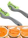Multifunctional Peeler Blue Carrot Potato Peeler Melon Gadget Vegetable Fruit turnip Slicer Cutter