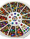 boite de couleur colore manucure 6cm de bijoux