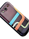 For Samsung Galaxy Case Pattern Case Back Cover Case Geometric Pattern TPU Samsung S3