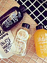 500ML Plastic Bottle Space Sports Water Bottles Lemon Juice Fruit Drinkware (No Bag)