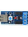 ts-35 usb modulo de alimentacao regulador de tensao - azul apropriado para a pesquisa cientifica arduino