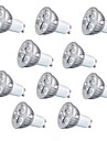 10pcs 3W GU10/GU5.3/E27 260LM Warm/Cool White Light LED Spot Lights(85-265V)
