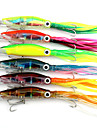 14cm 42g/Pcs Squid Skirts Lure Trolling Hard Artificial Fishing Bait Squid Jigs Lures 1PC