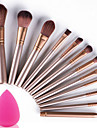 12pcs Makeup Brushes Set with Puff Sponge Profession Soft Cosmetic Kit Makeup Artist
