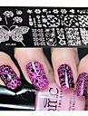 1pcs  New Nail Art Stamping Plates  DIY Geometric Image Templates Tools Nail Beauty XY-J03