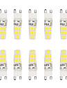 5W G9 Двухштырьковые LED лампы T 16 SMD 5730 300 lm Тёплый белый / Холодный белый Водонепроницаемый V 10 шт.