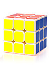 Yongjun® Smooth Speed Cube 3*3*3 Speed Magic Cube White ABS