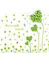 ботанический / Романтика / Натюрморт / Мода / Цветы / Праздник / Пейзаж / Отдых Наклейки Простые наклейки,PVC 70*50*0.1