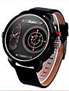 Hombre Reloj de Moda Cuarzo / Cuarzo Japones Resistente al Agua / Reloj Casual Piel Banda Reloj de Pulsera Negro