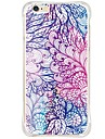 Back Shockproof/Dustproof/Waterproof/Transparent Feathers TPU Soft Cover For iPhone 6s Plus/6 Plus/6s/6/SE/5S/5