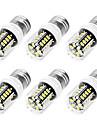 YouOKLight 6PCS High Luminous E27 E14 220V 30*SMD5733 LED Corn Bulb 3W Spotlight LED Lamp Candle Light