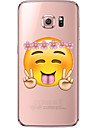 Cartoon Emoji Pattern TPU Soft Back Cover Case for Galaxy S6/S6 Edge/Galaxy S7/Galaxy S6 edge Plus/Galaxy S7 edge