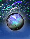 1pc batteri stokastisk mønster nat lys lampe indenlandske projektor lamper strålende diamant nat-lys
