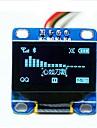"0.96 ""дюйма синий i2c IIC серийный 128x64 OLED LCD Светодиодный дисплей модуль для Arduino 51 msp420 stim32 ЮКЖД"